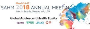 Congreso anual de la Society for Adolescente Health and Medicine 2018
