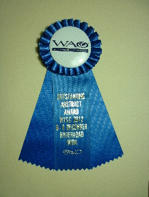 Premio a trabajo sobresaliente WISC 2012
