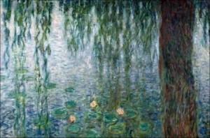Influencia de las cataratas de Monet en su pintura