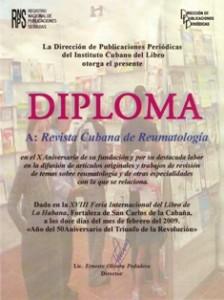 Reconocimiento del Instituto Nacional del Libro