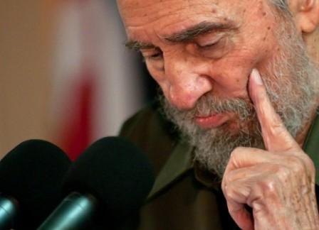 Fidel Castro. Foto tomada de Cubadebate