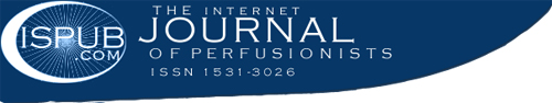 The Internet Journal of Perfusionist