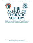 The annal of Thoracic surgery