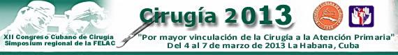 XII Congreso Cubano Cirugía 2013