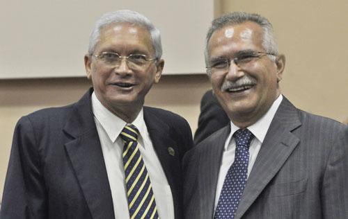 Profesores Manuel Cepero Nogueira y Pascual Berloco