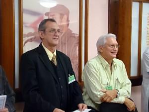 Dres. Simeón Collera y Manuel Cepero