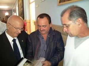 Dres. Roberto Méndez Catasús, Manuel Blanco Pego y Oscar Suárez (hijo) (izq. a der.)