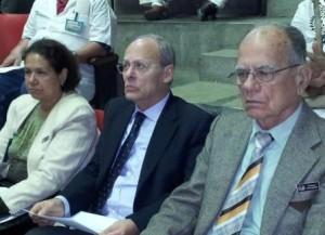 Dres. Martha Larrea Fabra, José Antonio Rodríguez Monte e Ignasio Morales Díaz