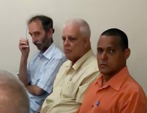 Dres. Aragon Palmero, Romero Sánchez y Martin Herrmann