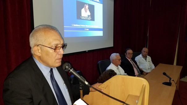 Bienvenida Dr. Orestes Noel Mederos Curbelo