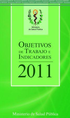 Folleto de Objetivos de Trabajo 2011