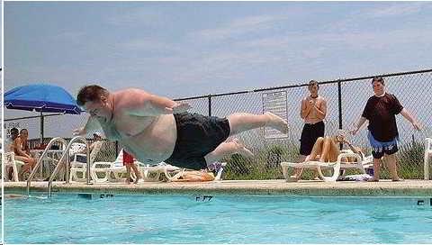 obeso-al-agua