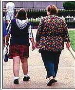 Gorda y gordita adolescente