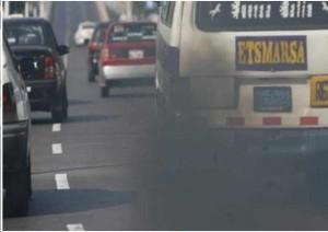 Contaminacion por carros