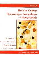 Revista Cubana Hematología, Inmunología y Hemoterapia