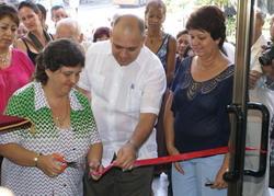 Inauguración de la Biblioteca Médica Nacional