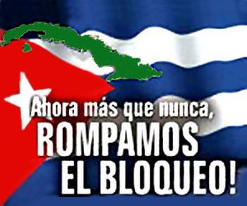 Condena Bloqueo 2013