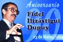 Aniversario 90 del natalicio del Profesor De Mérito DrC. Fidel Enrique Ilizástigui Dupuy