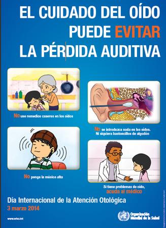 Día Internacional del Cuidado del Oído y la Audición 2014