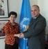Ministro de Salud y Margaret Chan