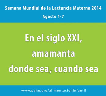 Semana Lactancia Materna, 2014