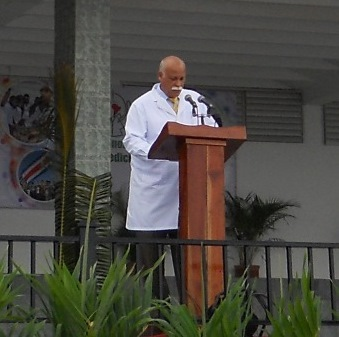Doctor Rafael González Ponce de León, rector de la ELAM