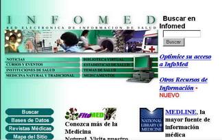 Infomed imagen primer portal 1994