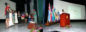 Acto solidaridad Haiti