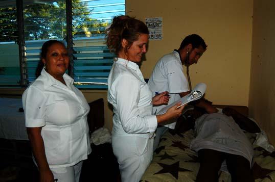Egresados en Haití