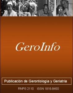Publicación de Gerontología y Geriatría