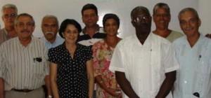 Algunos miembros de la Junta Directiva
