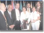 Delegados cubanos XIX Congreso de la FLASOG
