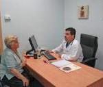Consulta con él médico