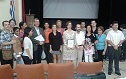 Profesores de la SEI junto a residentes de inmunología