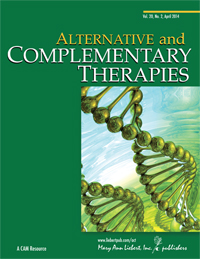Alternative and complementary therapies-journal