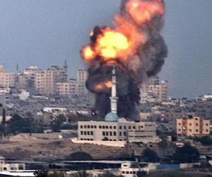 Bombardeo israelí a Gaza