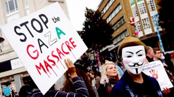 Cese la masacre de Gaza