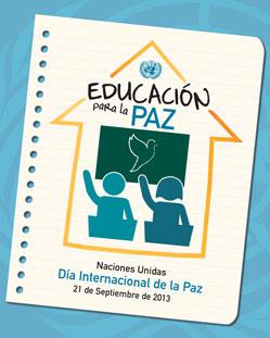 Día Internacional de la Paz, 2013