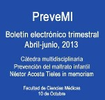 Boletín PreveMI, abril-junio de 2013