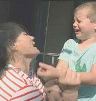 Maltrato físico al niño
