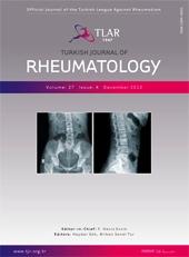 Turkish Journal of Rhematology