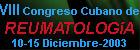 8vo Congreso Cubano de Reumatología 2003