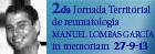 2da jornda territorial de reumatología Manuel Lombas García in memoriam