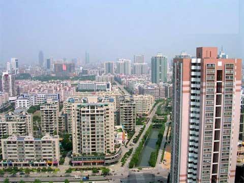 Ciudad de Foshan. Provincia de Guangdong, China