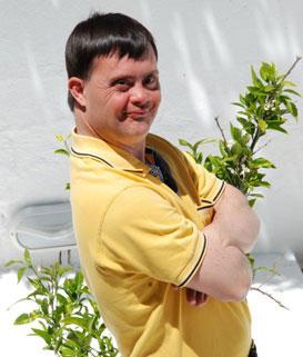Joven con síndrome de Down. Imagen: ONU