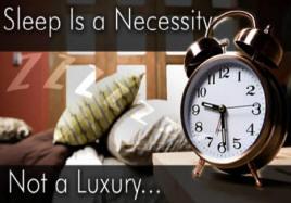 Dormir es una necesidad, no un lujo... Imagen: CDC