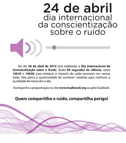 Día Internacional de la Concienciación sobre el Ruido 2013
