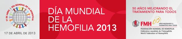 Día Mundial de la Hemofilia 2013