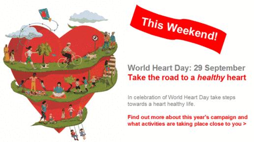 Día Mundial del Corazón 2013