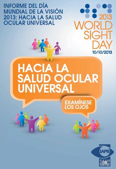 Informe del Día Mundial de la Visión 2013